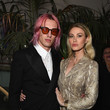 Jamie Campbell Bower Republic Records Grammy After Party At Spring Place Beverly Hills - Inside