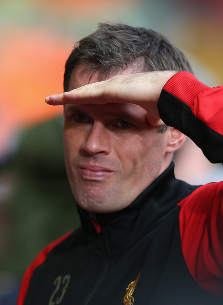 Jamie Carragher Pictures - Liverpool v Reading - Premier ...