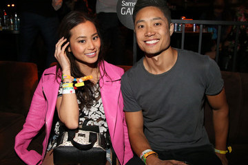Jamie Chung NYLON And Olay Fresh Effects Present Neon Carnival With GUESS