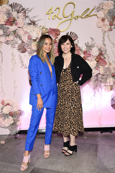 Jamie Chung Celebrates 42Gold Collection