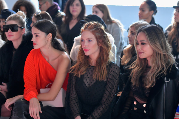 alice McCALL  - Front Row - February 2018 - New York Fashion Week: The Shows