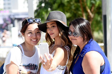 Jamie Chung American Eagle Outfitters Celebrates The Budweiser Made In America Music Festival - Los Angeles, CA - Day 1