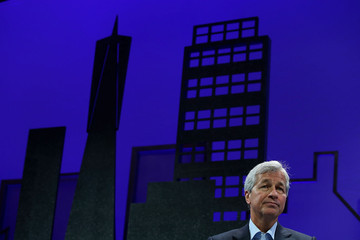 Jamie Dimon Business Leaders Speak at Fortune Global Forum in San Franciso