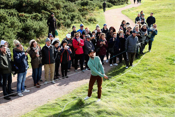 Jamie Dornan Alfred Dunhill Links Championship - Day One