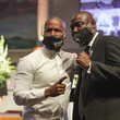 Jamie Foxx Private Funeral For George Floyd Takes Place In Houston