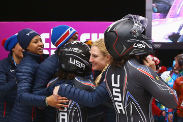Jamie Greubel Winter Olympics: Bobsledding