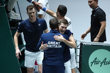 Jamie Murray Leon Smith Great Britain Compete For 2019 Davis Cup