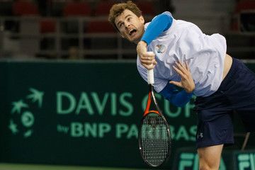 Jamie Murray Canada v GB: Davis Cup by BNP Paribas World Group First Round - Party