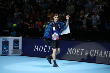 Jamie Murray Nitto ATP World Tour Finals - Day One