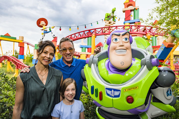 Jane Allen Celebrities Preview Toy Story Land at Walt Disney World Resort