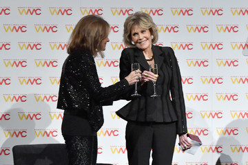 Jane Fonda Gloria Steinem Women's Media Center 2017 Women's Media Awards - Inside
