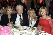 ATLANTA OCTOBER 04: Guest, Media Mogul and Philanthropist Ted Turner, Laura Turner Seydel - Turner Foundation and Pat Mitchell - Media Executive attend The 2018 Georgia Campaign For Adolescent Power & Potential (GCAPP) EmPower Party - Hosted by Jane Fonda on October 4, 2018 at The Fairmont in Atlanta, Georgia.