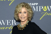 ATLANTA OCTOBER 04: Jane Fonda, GCAPP Founder Board Chair Emeritus, attends The 2018 Georgia Campaign For Adolescent Power & Potential (GCAPP) EmPower Party - Hosted by Jane Fonda on October 4, 2018 at The Fairmont in Atlanta, Georgia.