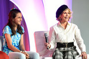 Youth Activist, Nawroz Youssef with Jane Fonda, GCAPP Founder, Board Chair Emeritus attend the 2018 Georgia Campaign for Adolescent Power & Potential (GCAPP) Youth EmPowerment Summit hosted by Jane Fonda on October 5, 2018 in Atlanta City.