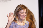 Valeria Bruni Tedeschi attends the Prix Lumiere 2018 At 10th Film Festival Lumiere on October 19, 2018 in Lyon, France.