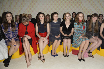 Jane Levy Front Row at Miu Miu