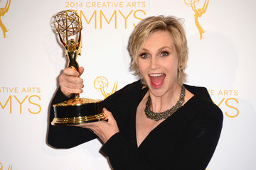 Jane Lynch Creative Arts Emmy Awards Press Room