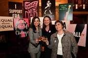 Sophia Bush, Sophie Kelly and Jessica Neuwirth pose during the Jane Walker by Johnnie Walker Equal Rights Amendment Celebration with The ERA Coalition at The Campbell Bar on March 10, 2020 in New York City.
