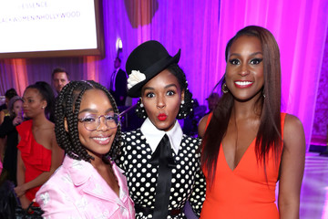 Janelle Monae Issa Rae 2020 13th Annual ESSENCE Black Women in Hollywood Luncheon - Inside