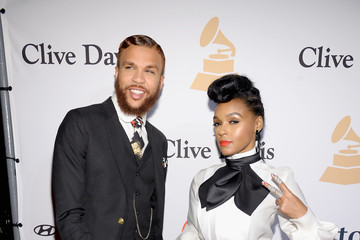 Janelle Monae Jidenna 2016 Pre-GRAMMY Gala And Salute to Industry Icons Honoring Irving Azoff - Arrivals