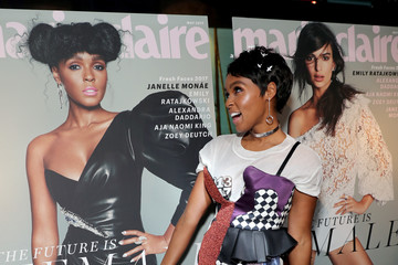 Janelle Monae Marie Claire Celebrates 'Fresh Faces' with an Event Sponsored by Maybelline - Arrivals