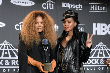 Janet Jackson 2019 Rock & Roll Hall Of Fame Induction Ceremony - Press Room