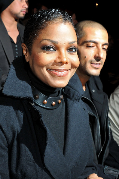 Janet Jackson and Wissam Al Mana - Lanvin - Front Row Paris Fashion Week Spring/Summer 2011