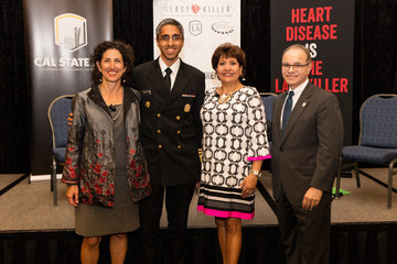 Janet Murguia Surgeon General Joins Women's Heart Alliance and Clinton Foundation at CalState LA to Fight the Ladykiller