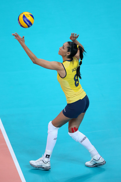 Jaqueline Carvalho - Olympics Day 3 - Volleyball