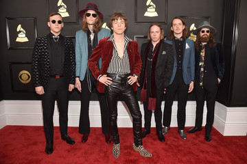 Jared Champion The 59th GRAMMY Awards -  Red Carpet