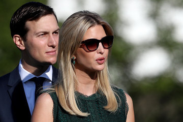 Jared Kushner President Trump and Melania Trump Lead Moment of Silence For 9/11 Victims