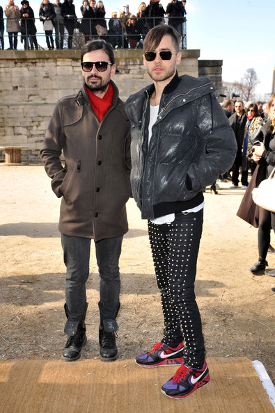 Jared Leto - Christian Dior - PFW - Ready To Wear - Fall/Winter 2011 - Show