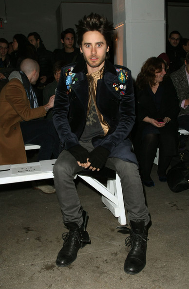 Jared Leto - Robert Geller Autumn Winter 2010 Fashion Show