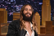 Jared Leto Visits 'The Tonight Show'