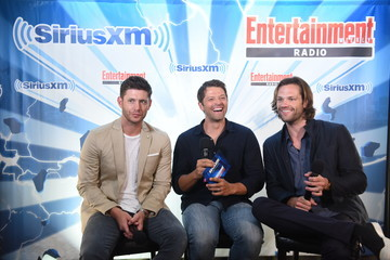 Jared Padalecki SiriusXM's Entertainment Weekly Radio Channel Broadcasts From Comic Con 2017 - Day 2