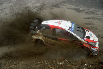 Jari-Matti Latvala FIA World Rally Championship Great Britain - Day Two