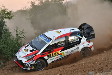 Jari-Matti Latvala FIA World Rally Championship Spain - Day One