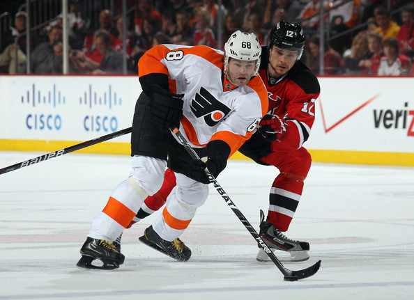 Jaromir Jagr - Philadelphia Flyers v New Jersey Devils - Game Four