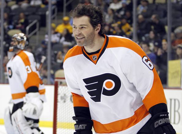 Jaromir Jagr - Philadelphia Flyers v Pittsburgh Penguins