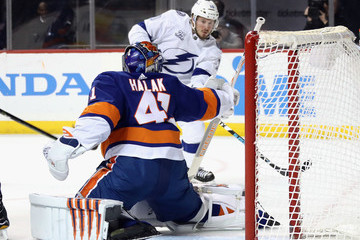 Jaroslav Halak Tampa Bay Lightning vs. New York Islanders