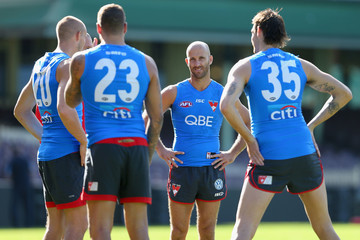 Jarrad Mcveigh Sydney Swans Training Session
