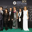 Jasmila Zbanic Award Night Green Carpet Arrivals - Zurich Film Festival 2014