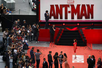 Jasmine Guinness Marvel's 'Ant-Man' - European Premiere - Red Carpet Arrivals