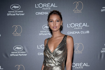 Jasmine Tookes Gala 20th Birthday of L'Oreal in Cannes - The 70th Annual Cannes Film Festival