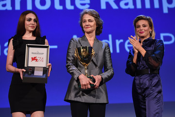 Jasmine Trinca Closing Ceremony: 74th Venice International Film Festival - Jaeger-LeCoultre Collection