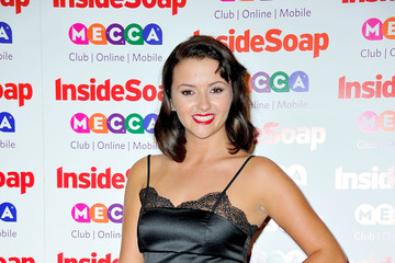 Jasmyn Banks Arrivals at the Inside Soap Awards