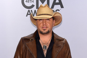 Jason Aldean Arrivals at the 48th Annual CMA Awards