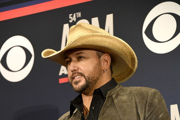Jason Aldean 54th Academy Of Country Music Awards - Press Room