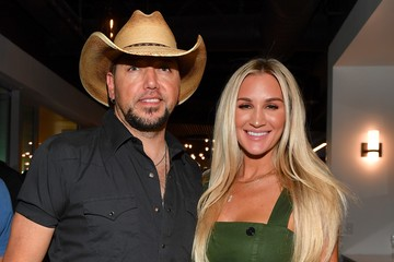 Jason Aldean BMG's New Location Grand Opening And Ribbon Cutting