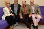 """Christopher Ashley,Pamela Shaw,Jason Alexander and Victor Syrmis attends """"Lucky Stiff"""" opening at the 29th Annual Fort Lauderdale Film Festival at Amaturo Theater on November 7, 2014 in Fort Lauderdale, Florida."""